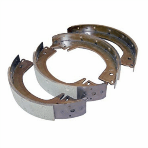 """( 918246 ) Brake Shoe Set 11"""" (per axle)  Fits 1946-1964 Willys Truck, FC150, FC170, Station Wagon    by Crown Automotive"""