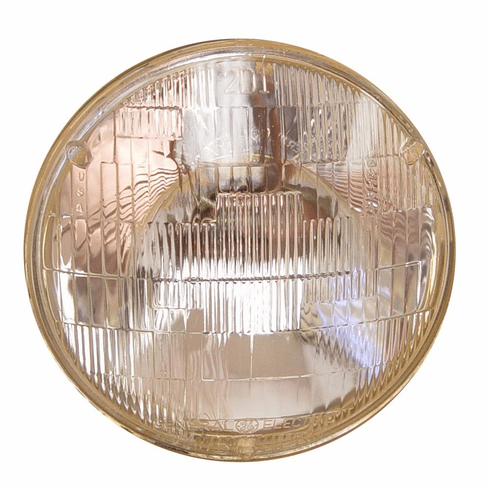 ( 924212 ) Sealed Beam Headlight, 6 Volt, Fits 1945-1957 Jeep CJ, Willys Pick-up Truck, Station Wagon by Omix-Ada