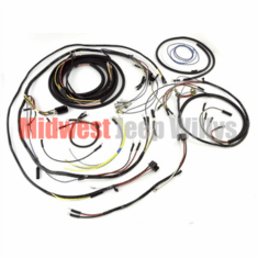 ( 925133 ) Complete Plastic Covered Wiring Harness Kit for 1957-1964 Willys Jeep CJ3B Models by Omix-Ada