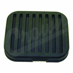 ( 948758 ) Clutch Pedal Rubber Cover, fits 1972-1986 Jeep CJ5, CJ7 and CJ8 Scrambler Models by Crown Automotive