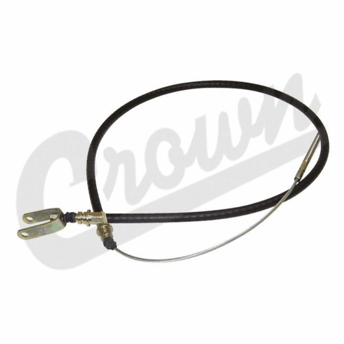 """( 992533 ) Clutch Release Cable 58-1/4"""" long, Fits 1966-1971 CJ5, CJ6 with V6-225 engine by Crown Automotive"""
