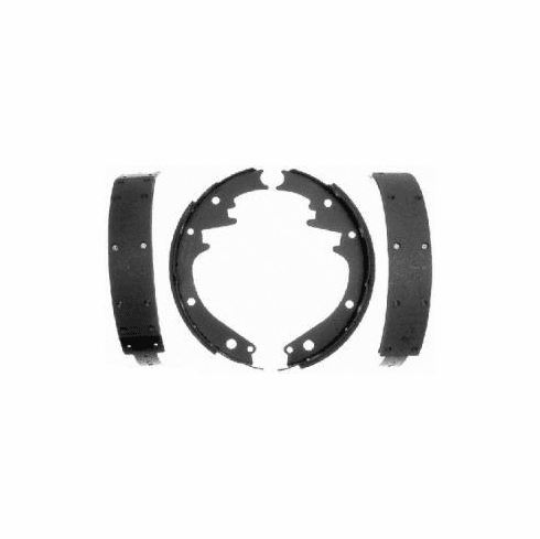 """( 994324 ) Brake Shoe Set 11"""" x 2"""" (per axle) Fits 1965-73 Wagoneer and J-Series Truck by Crown Automotive"""