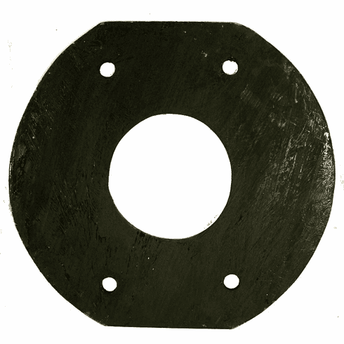 ( A-1151 ) Replacement Machine Gun Mounting Plate, Fits 1941-1945 Willys Jeep MB, Ford GPW    by Omix-Ada