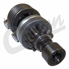( A-17702 ) Starter Drive for MZ-4113 model Starters, fits Willys Jeep MB, GPW, CJ2A Models by Crown Automotive