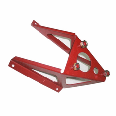 ( A-2359B ) Late 3-Bolt Style Spare Tire Carrier fits 1944-1945 Willys MB and Ford GPW by Omix-Ada