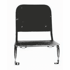 ( A-2925 ) Reproduction Seat Frame, Right Front, Fits 1941-1945 MB and Ford GPW by Omix-Ada