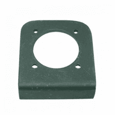 ( A-674656 ) Reproduction Radio Receptacle Bracket fits 1950-1952 Jeep M38 by Omix-Ada