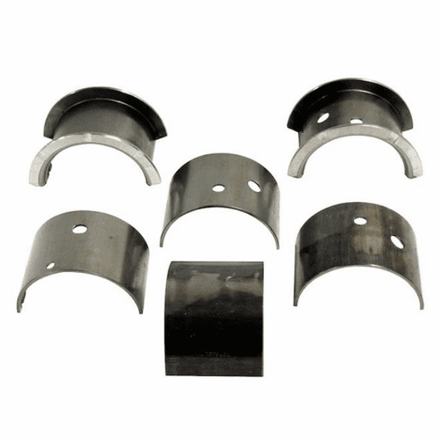 ( A-6748 ) Main Bearing Set (set of 3)  .020 Under size, L-134 & F-134  Fits 1941-71 MB, GPW, M38, M38A1, Willys & Jeep CJ    by Omix-Ada
