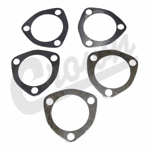 ( A-6760 ) Shim Kit for Upper Steering Cover, Fits MB, GPW, CJ2A, CJ3A, CJ3B, DJ3A, CJ5, CJ6, M38, M38A1 by Omix-Ada