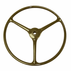 ( A-6858 ) Replacement Steering Wheel, Olive Green, Fits 1950-1966 Willys Jeep M38 and M38A1 Models by Omix-Ada