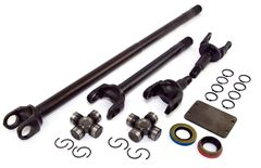 Alloy USA Front Axle Kit, 1987-95 Jeep Wrangler (YJ), 1984-91 Cherokee (XJ), Dana 30, 30-Spline Kit