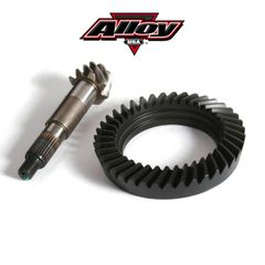Alloy USA 4.56 Ratio Ring and Pinion Gear Set, fits 1972-86 Jeep CJ5, CJ7, CJ8 with Dana 30 Front Axle