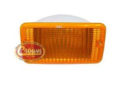 Amber Parking Lamp, Right Side, fits 1997-06 Jeep Wrangler TJ
