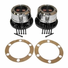 ( 400502 ) AVM Locking Hub Set, Fits 1972-1980 Jeep CJ5, 1972-1975 Jeep CJ6 w/ Dana 30 Front Axle by Crown Automotive