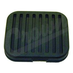 (B) Clutch Pedal Rubber Cover, fits 1972-1986 Jeep CJ5, CJ7 and CJ8 Scrambler Models