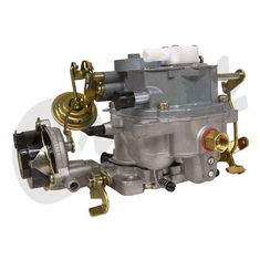 ( BBD42S ) New Carburetor for 1981-1990 Jeep CJ, Wrangler with 4.2L Engine without Electronic Stepper Motor By Crown Automotive