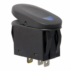 Blue 2-Position Rocker Switch by Rugged Ridge
