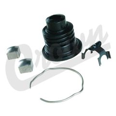 Steering Lower Shaft Boot Kit, fits 1976-1986 Jeep CJ5, CJ7, CJ8 Scrambler Models