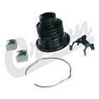 ( 8132676K ) Steering Lower Shaft Boot Kit, fits 1976-1986 Jeep CJ5, CJ7, CJ8 Scrambler Models By Crown Automotive