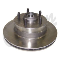 ( 53002928 ) Front Brake Rotor for 1984-92 Jeep Cherokee XJ and Comanche MJ with 2WD by Crown Automotive