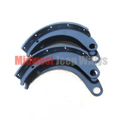 ( 7705798 ) Brake Shoe Set for Dodge M37, M43, Set of 4 Brake Shoes