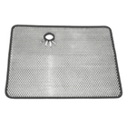 ( 1110602 ) Radiator Bug Shield, Stainless Steel, 87-95 Jeep Wrangler by Rugged Ridge