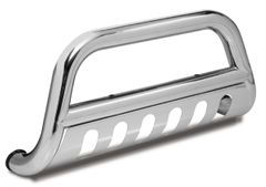 Bull Bar with Skid Plate, 3-Inch, Stainless Steel, Outland Automotive, Dodge Ram 2500/3500, Mega Cab 2010-2011