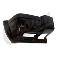 ( 5DY00DX8AB ) Passneger Side Front Bumper End Cap Gloss Black for 1997-01 Jeep Cherokee XJ By Crown Automotive