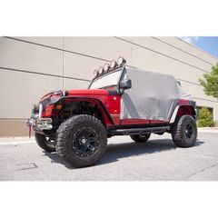 Cab Cover, Gray, 07-17 Jeep 4-Door Wrangler by Rugged Ridge