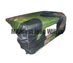 ( S-21124 ) Cab Top for M939 Series 5 Ton Military Trucks with 3 Color Camouflage by Newstar