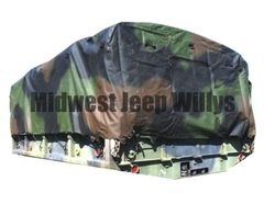 ( S-21123 ) Cargo Bed Cover for M35A1, M35A2 and M35A3 Series 2.5 Ton Trucks with Standard Wheel Base by Newstar