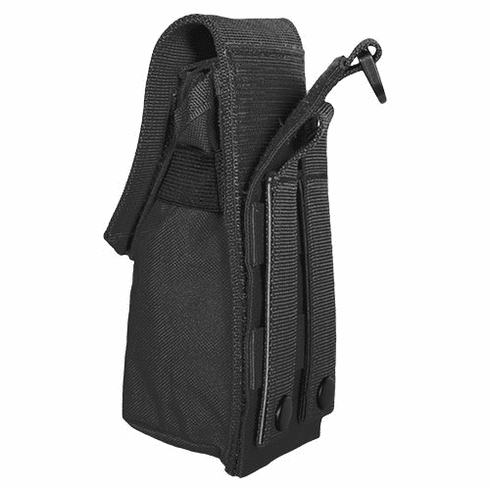 Cargo Seat Cover Black Universal Tourniquet Molle Pouch with Elasticized sides