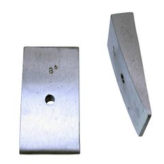 CAST ALUMINUM, 8 DEGREE (FOR PINION ANGLE)