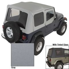 ( 1372209 ) XHD Soft Top, Charcoal, Tinted Window, 88-95 Jeep Wrangler  by Rugged Ridge