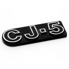 CJ5 Emblem, Self Adhesive, 1976-1983 CJ5 , Official MOPAR Licensed Product