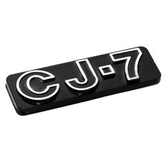 CJ7 Emblem, Stick On, Jeep CJ7 1976-1986, Official MOPAR Licensed Product
