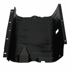 ( CJSP-1 ) Gas Tank Skid Plate for 1976-1986 Jeep CJ Models, 1987-1990 Wrangler YJ, for 15 Gallon Tank by MTS