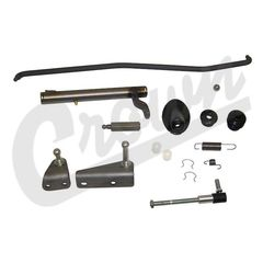 Complete Clutch Linkage Kit 1976-1986 CJ5, CJ7, CJ8 with Manual Transmission
