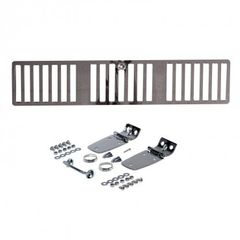 Complete Hood Kit, Stainless Steel, 1997 Jeep Wrangler by Rugged Ridge