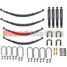 ( Suspension-MB ) Complete Suspension Rebuild Kit, Fits 1941-1945 Willys Jeep MB, Ford GPW by Preferred Vendor