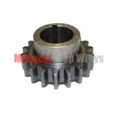 Crankshaft Sprocket (134 CI L-Head With Chain Driven Camshaft), 1941-1945 MB, 1941-1945 Ford GPW