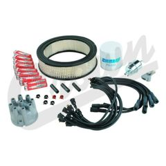 ( TK34 ) Tune Up Kit for 1991 Jeep SJ and J-Series with 5.9L V8 Engine By Crown Automotive
