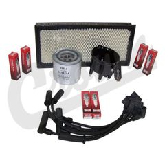 ( TK25 ) Tune-Up Kit for 1999 Jeep Wrangler TJ wtih 4.0L 6-Cylinder Engine By Crown Automotive