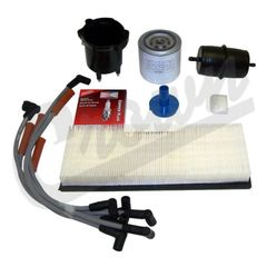 ( TK12 ) Tune-Up Kit for 1987-90 Jeep Wrangler YJ with 2.5L 4 Cylinder Engine By Crown Automotive