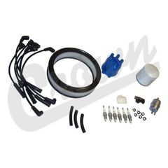 ( TK1 ) Tune-Up Kit for 1987-90 Jeep Wrangler YJ with 4.2L 6 Cylinder Engine By Crown Automotive