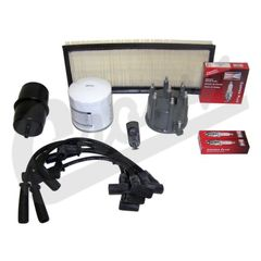 ( TK2 ) Tune-Up Kit for 1991-93 Jeep Wrangler YJ with 4.0L 6 Cylinder Engine By Crown Automotive