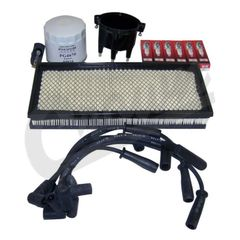 ( TK4 ) Tune-Up Kit for 1997-98 Jeep Wrangler TJ with 4.0L 6 Cylinder Engine By Crown Automotive