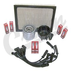 ( TK11 ) Tune-Up Kit for 1997-98 Jeep Grand Cherokee ZJ with 4.0L 6 Cylinder Engine By Crown Automotive