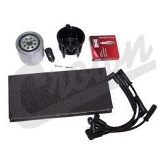 ( TK26 ) Tune-Up Kit for 1999-02 Jeep Wrangler TJ wtih 2.5L 4 Cylinder Engine By Crown Automotive