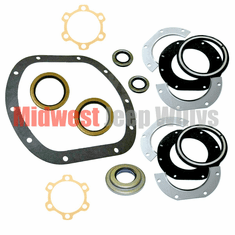 ( D25SK ) Axle Gasket and Seal Kit, Dana 25 Front Axle, 1941-1965 Willys Jeep by Preferred Vendor